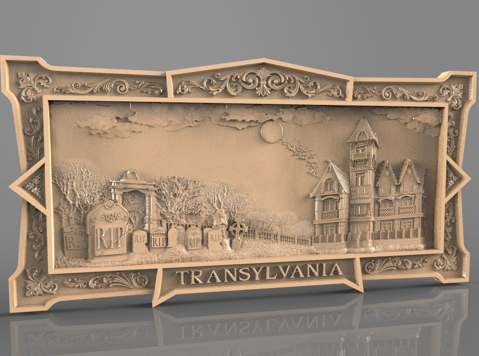 Transylvania cnc file model