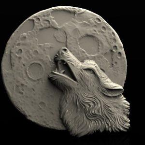 woolf moon cnc file model
