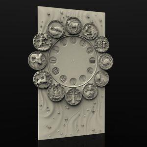 Zodiacal Wall Clock cnc file