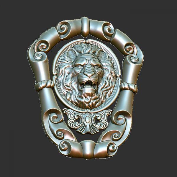 lion cnc file