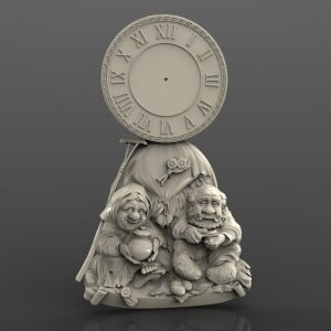 great clock model for cnc