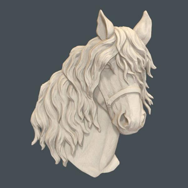 horse head cnc file