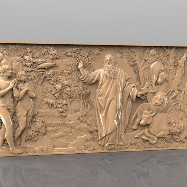 religion cnc file model wall decor