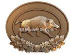 wild boar cnc file
