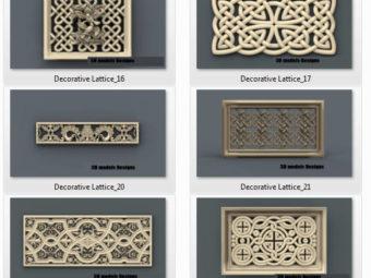 decorative lattice cnc file