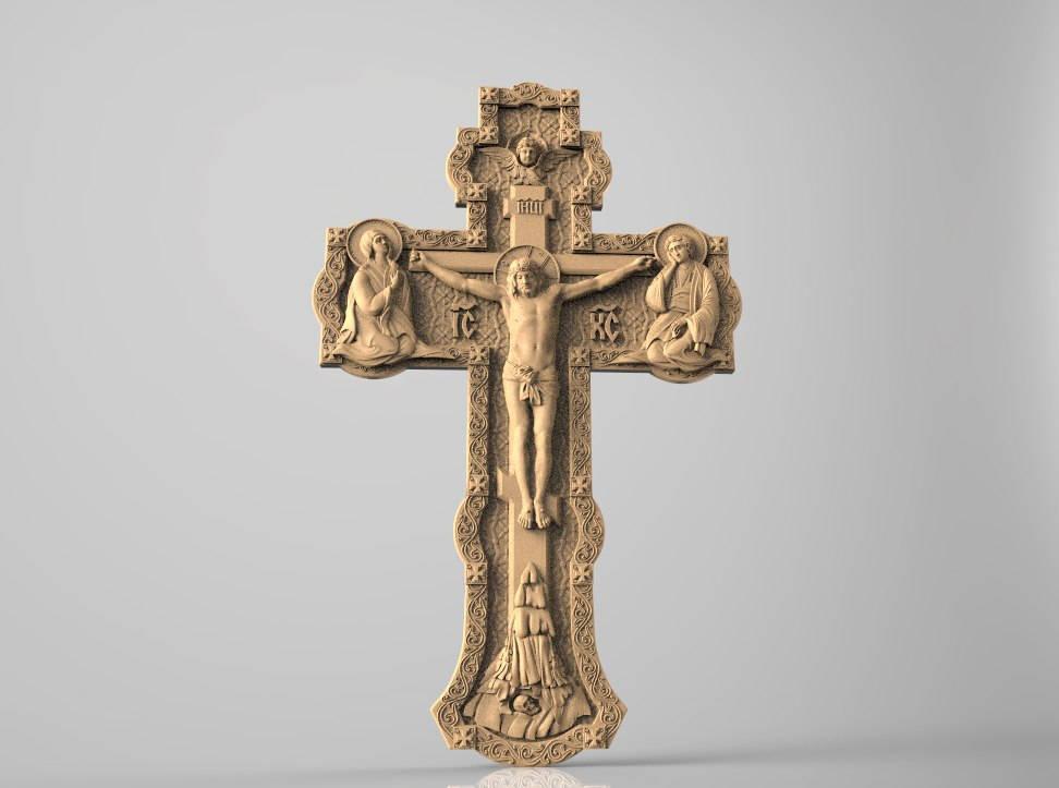 Crucifixion cnc file