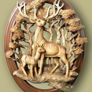 reindeers cnc file