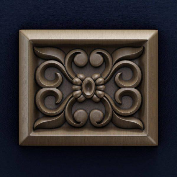3D Model for CNC Router STL File Artcam Aspire Vcarve Wood Carving.IS168