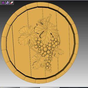 grapes cnc file
