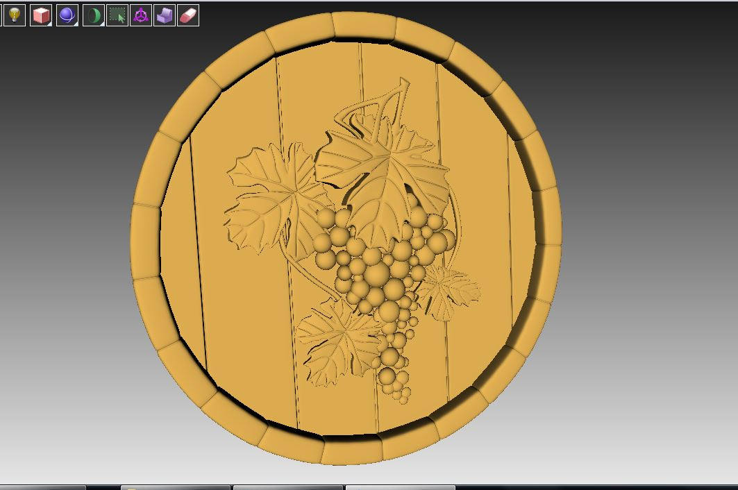 grapes cnc file