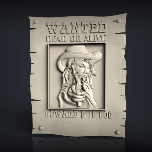 Wanted 3d cnc file
