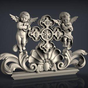 angels cnc files decor