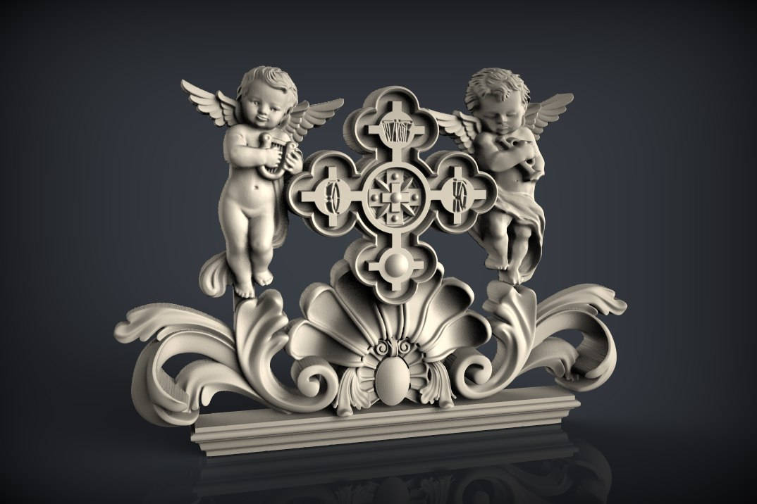 angels cnc files decor