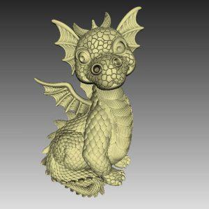 dragon cnc file model