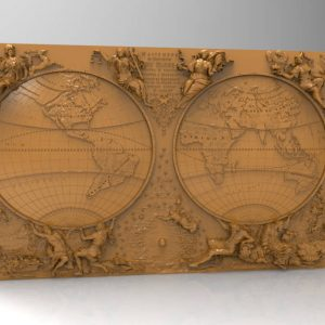 old map cnc file