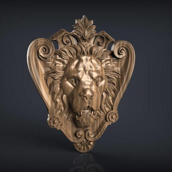 lion cnc file model