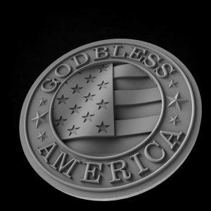 America 3D model