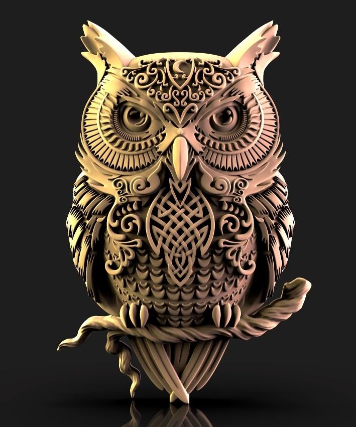 Owl STL model