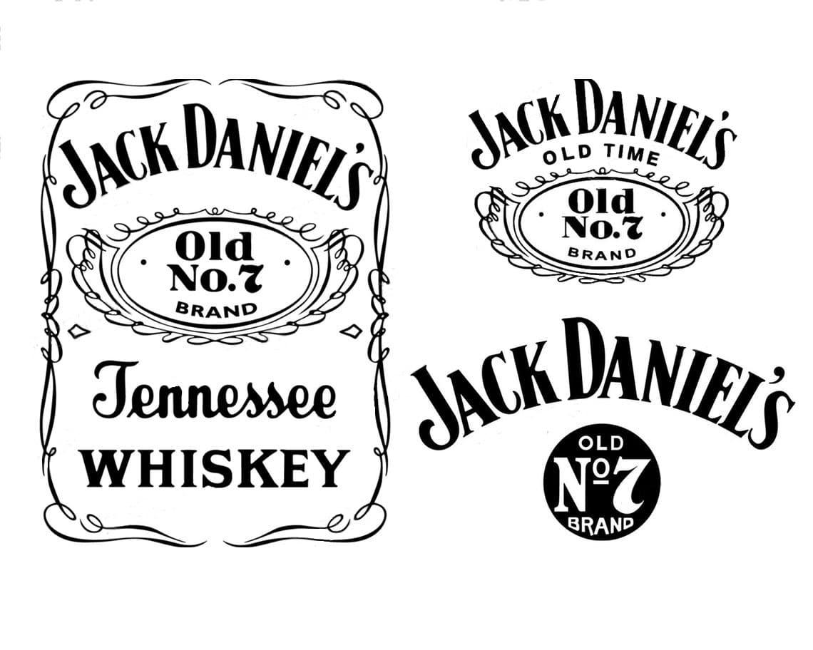 Jack Daniels SVG EPS PNG Logo Vector File