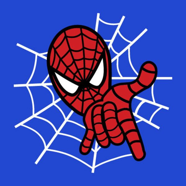 Spiderman Vector SVG