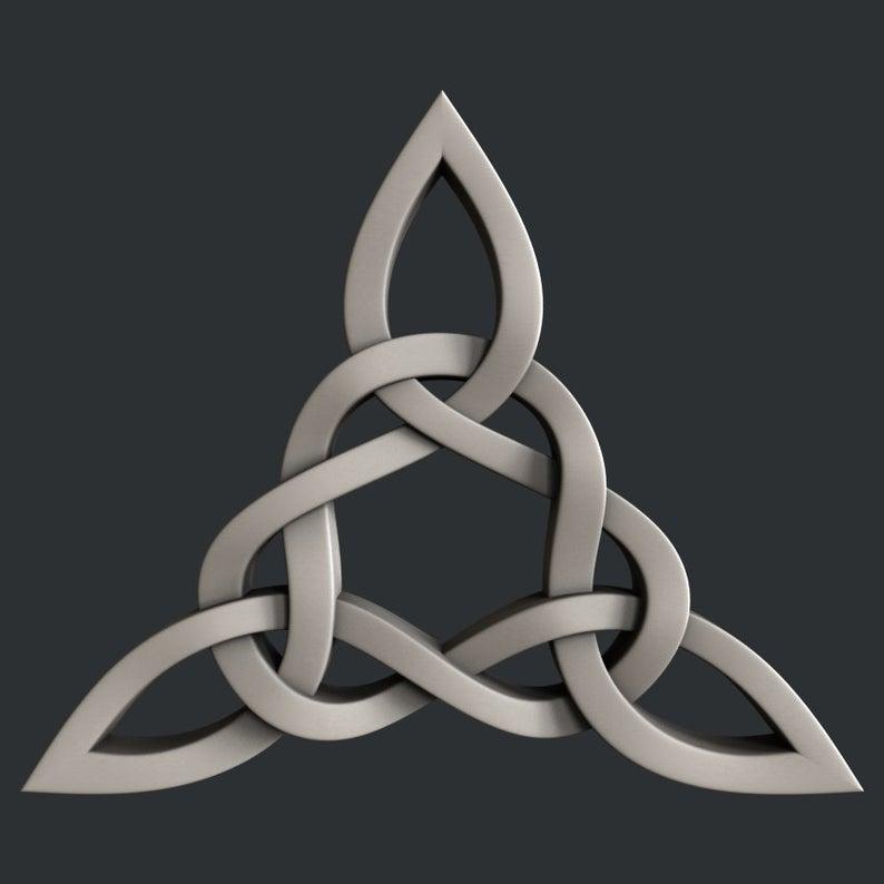 Celtic Decors 3D STL Models Collection Set
