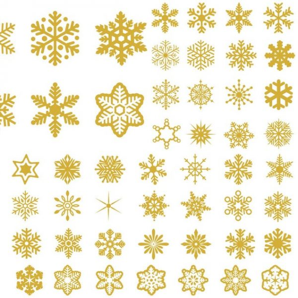 Snowflake SVG WinterSVG Christmas SVG Snow SVG For Cutting