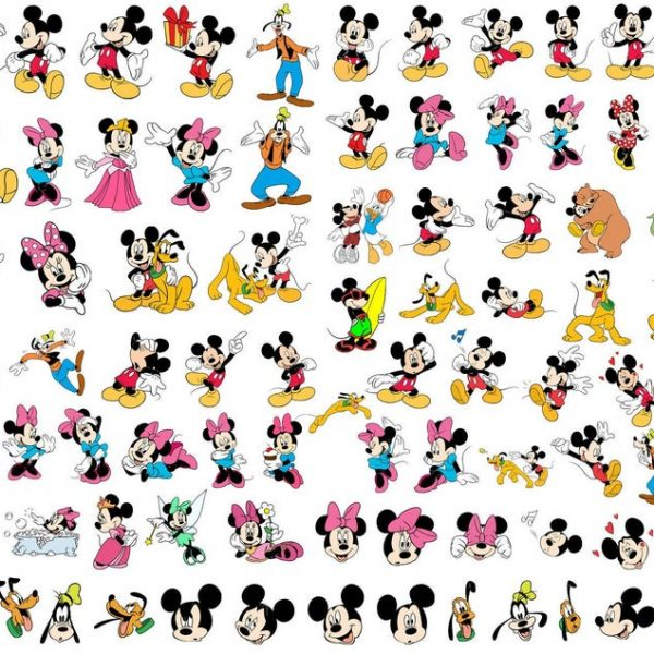 Mickey and Minnie SVG Mickey Mouse SVG Minnie Mouse SVG Vector Files