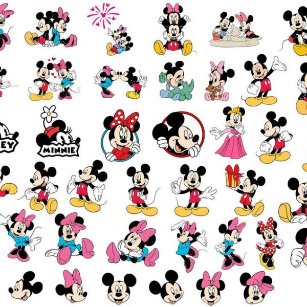 Mickey and Minnie SVG Mickey Mouse SVG Minnie Mouse SVG