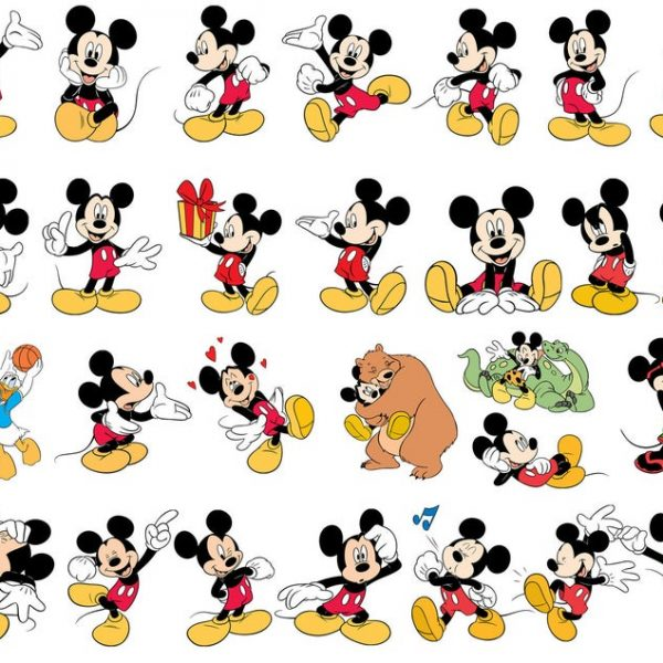 Mickey and Minnie SVG, Mickey Mouse SVG, Minnie Mouse SVG, Disney Svg, Clipart, For Cricut, Cut File, Vector, Vinyl File, Png, Pdf, Dxf