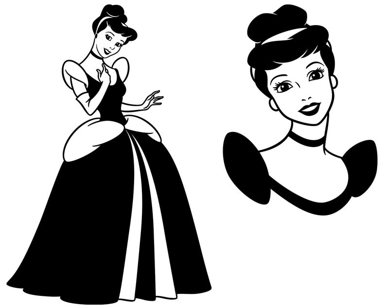 Disney Princess SVG