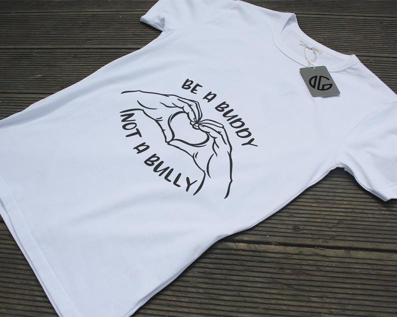 Be a buddy not a bully SVG