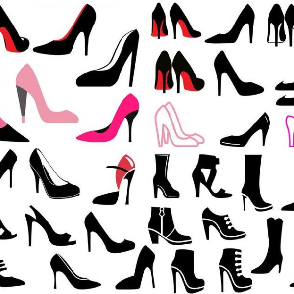 High Heel SVG, Womens Shoes SVG, Stiletto Heels Svg, For Cricut, For Silhouette, Clipart, Cut Files, Vector, Digital File, Dxf, Png, Svg