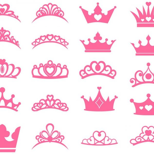 Royal Crown SVG, Princess Tiara SVG, King Crown, Queen Crown, Princess Crown, Svg File for Cricut, Vector, Silhouette, Cut File, Png, Dxf