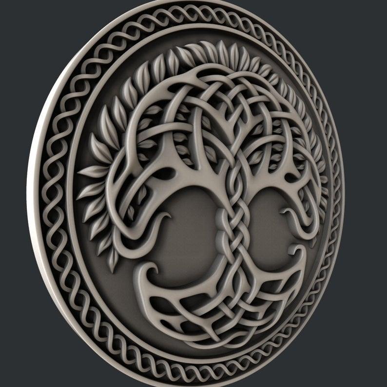 Tree 3D STL Model